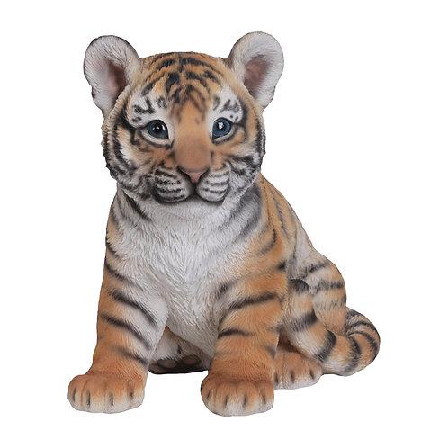 Statue Faune tigre assis - Sélection Touzeau