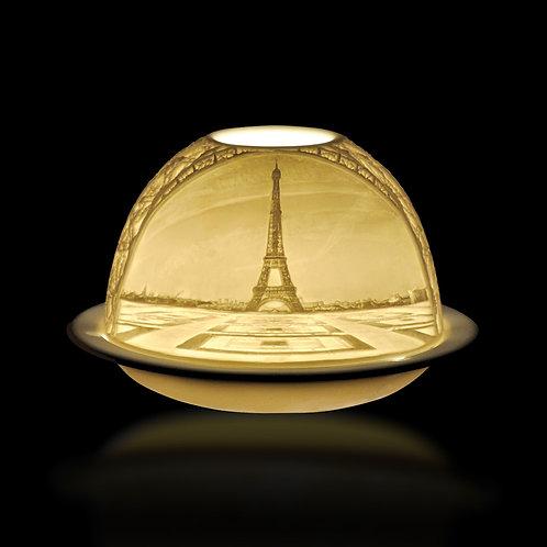 """Photophore Lithophanie """"La Tour Eiffel"""" - Bernardaud"""