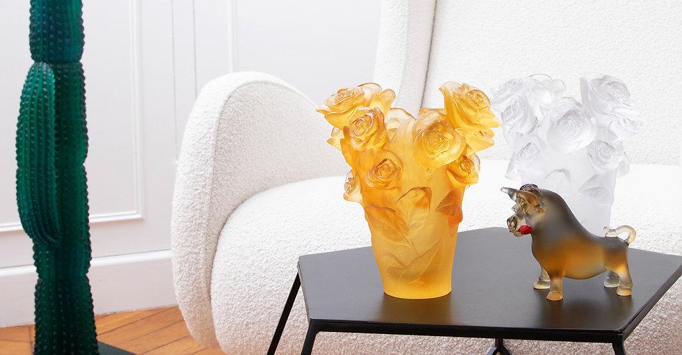 Buffle et vase rose passion.jpg
