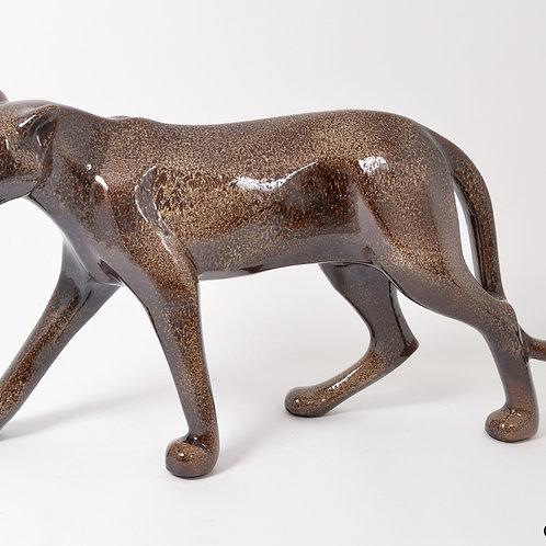 Statue Spirit panthère marbré XL - Sélection Touzeau
