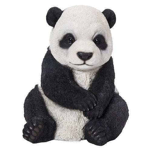 Statue Faune panda assis - Sélection Touzeau