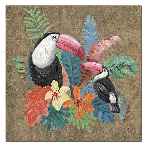 Tableau toucan coloré - Sélection Touzeau