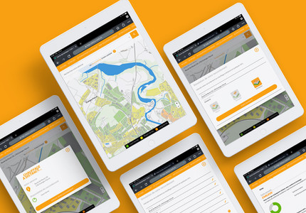 Carte interactive pour Groupe E Celsius