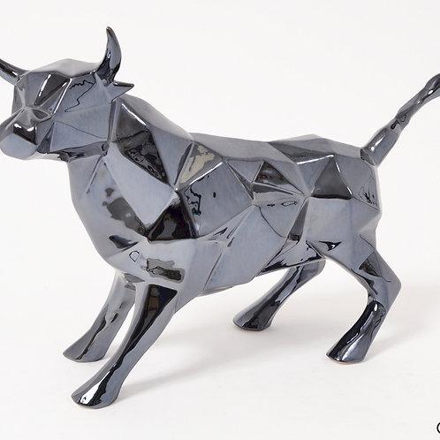 Statue Bull taureau platine - Sélection Touzeau