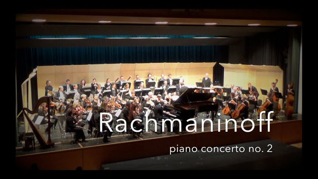 Sergej Rachmaninoff: Piano concerto no. 2 in c minor op. 18, excerpt of 3rd movement