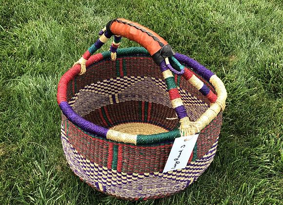 Large Round Market Basket 3