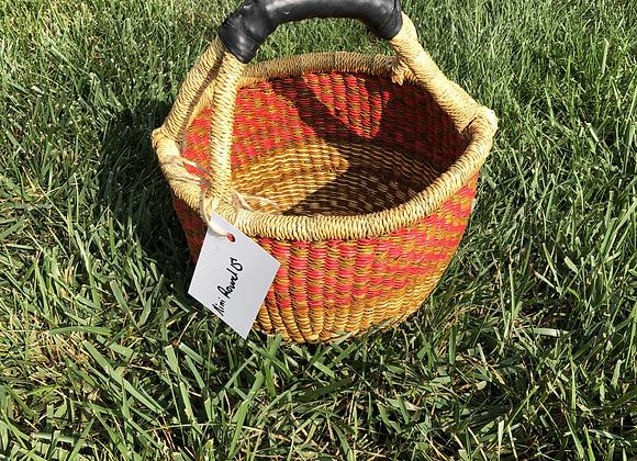 Mini Round Market Basket 15