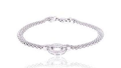 Bracelet bouée en argent Cosimo