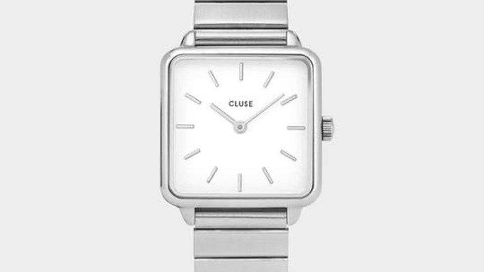 La Tétragone Steel White, Silver Colour
