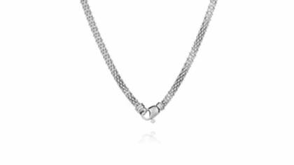 Collier en argent Florencia - Longueur 45 cm