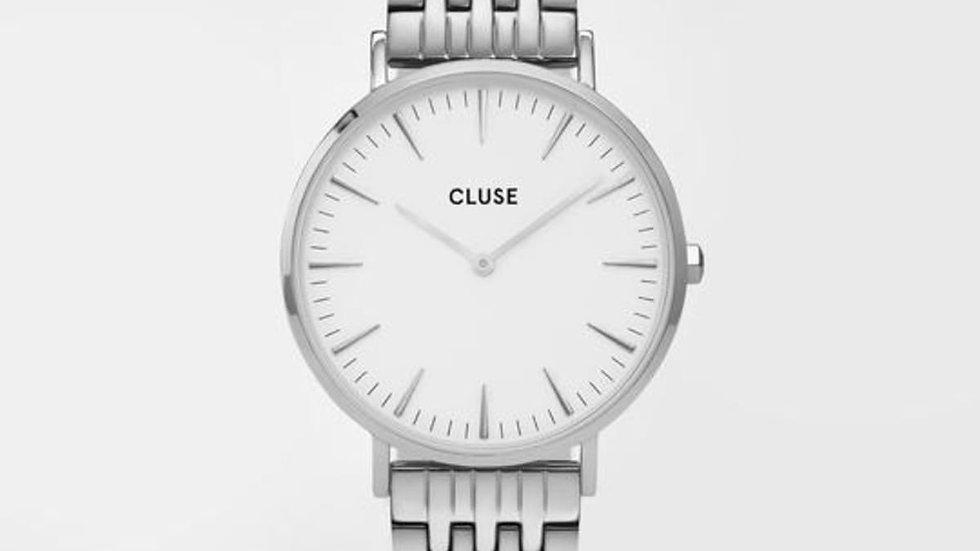 Boho Chic Steel White, Silver Colour