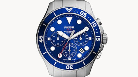 Montre FB-03 chronographe en acier inoxydable