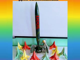 Тематическая неделя, посвящённая Дню Космонавтики в 9 группе.