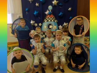 День Космонавтики во 2 группе.