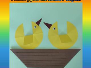 """Кружок"""" Птички в гнезде"""" во 2 группе."""