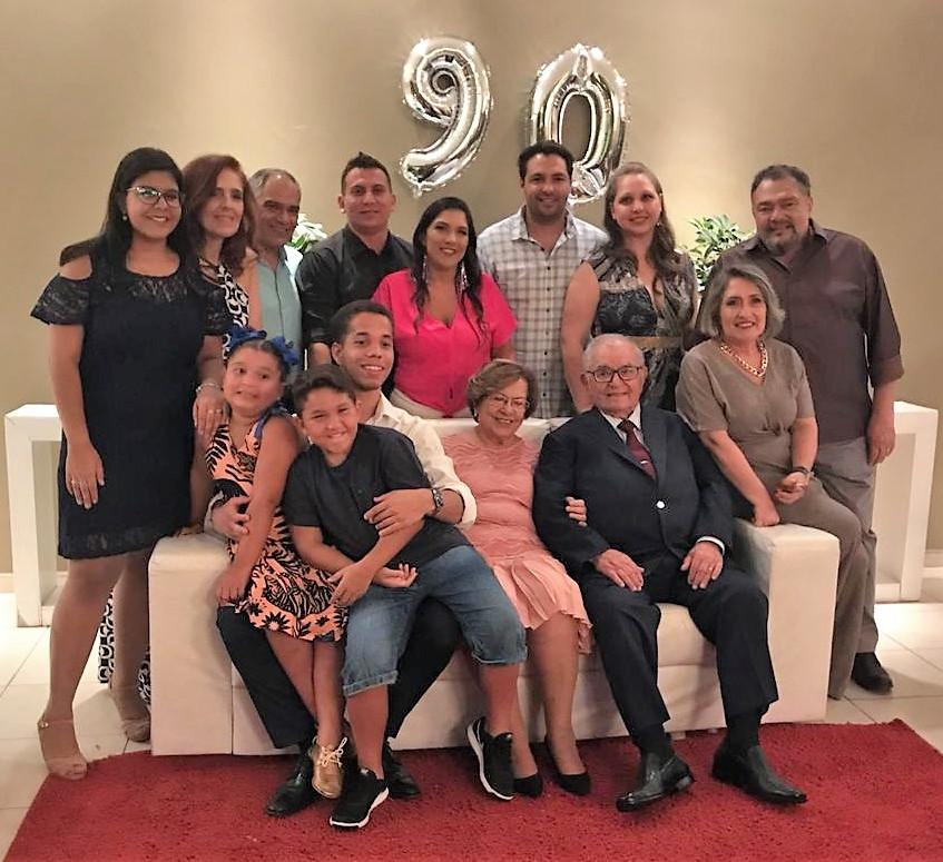 Raquel, Liliam, Edy, Diego, Maysa, Gabri