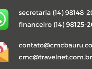 Atendimento online da CMC