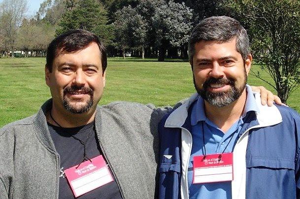 Ovídio Dias e Edmilson Dias, pastores da Comunidade Cristã de Guarulhos