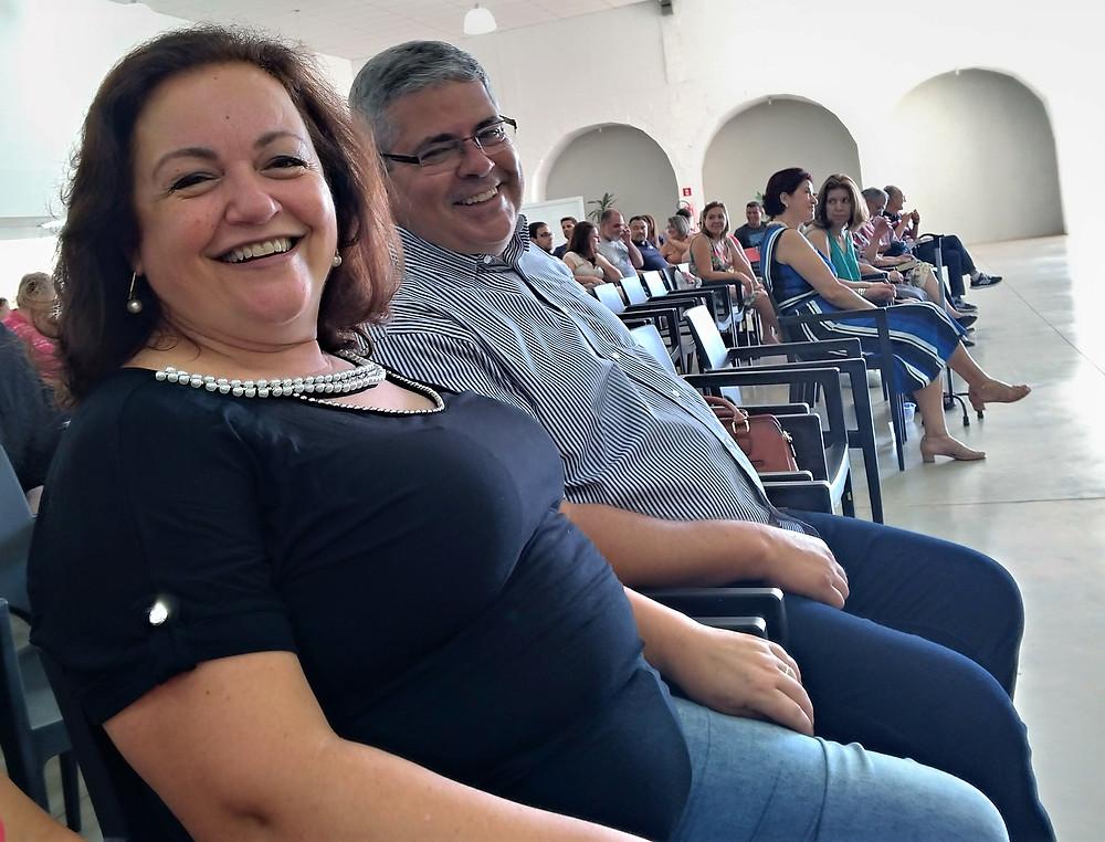 Maria Angélica e Edmilson Marques Dias, de Guarulhos