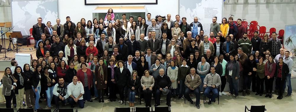 Em 2016 foram realizadas 3 reuniões com líderes de grupos
