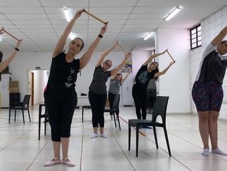 Ballet com Liliam Chagas