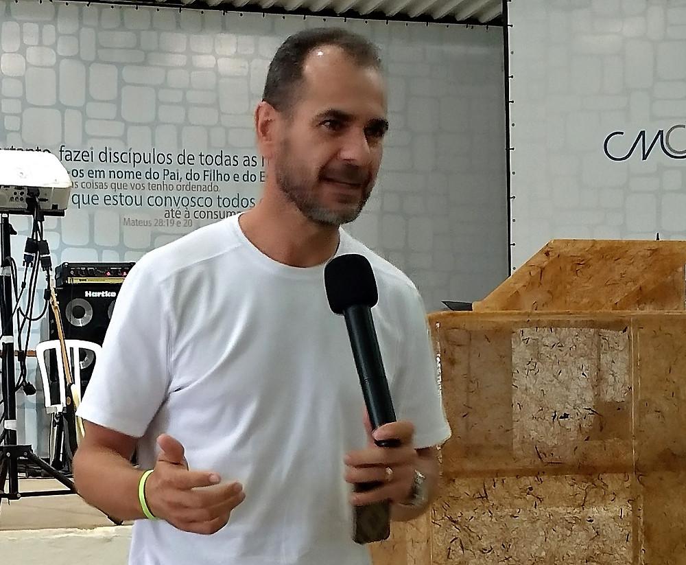 Rubens participou de um acampamento no início de março, em Bauru