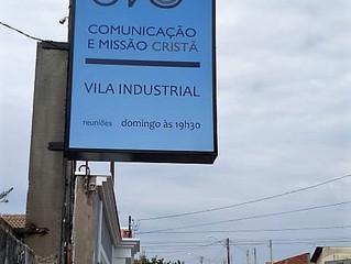 Nova fachada na CMC Vila Industrial