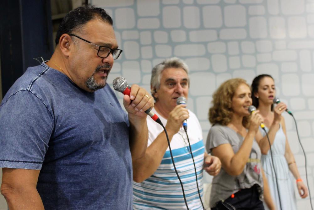 Bilão Chagas, Luiz Bachega, Liliam Chagas e Tássia Camargo