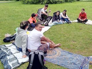 Alemanha: reunião no parque