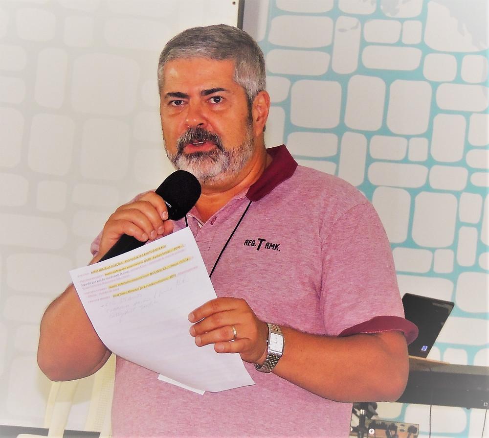 Edmilson Marques Dias, pastor da Comunidade Cristã de Guarulhos (CCG)