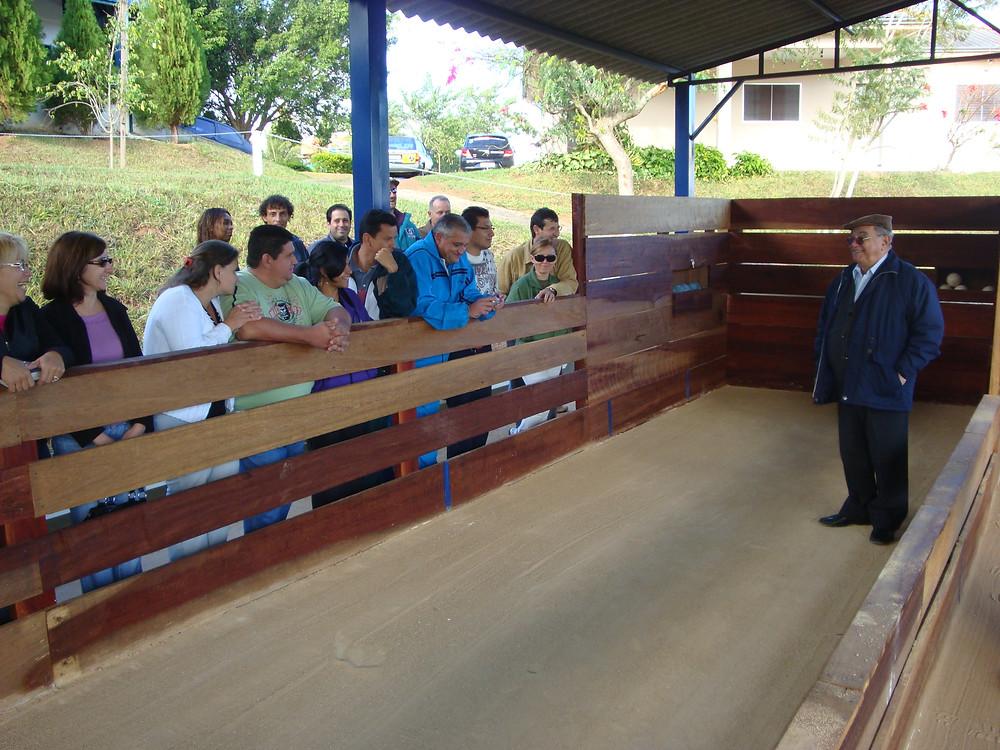 Abílio Chagas inaugurou a cancha em 2009
