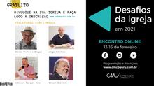 """Bomilcar e Edmilson no encontro """"Desafios da igreja em 2021"""""""