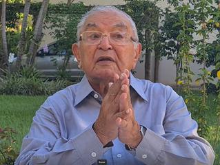 Presencial e online neste domingo (20.06), com pastor Abílio Pinheiro Chagas