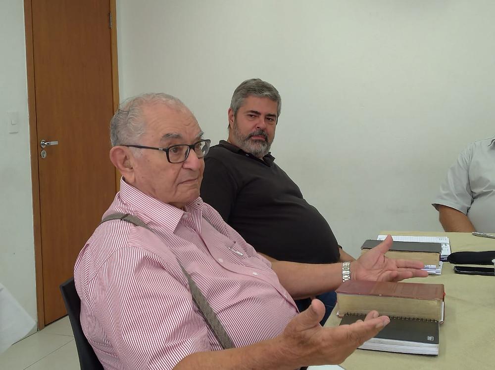 Abílio Chagas e Edmilson Dias