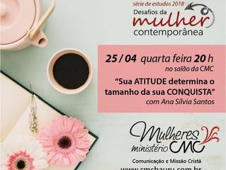Palestra com Ana Sílvia Santos