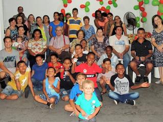 Celebração de Natal na CMC Pirajuí