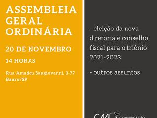 Eleição de nova diretoria e conselho fiscal