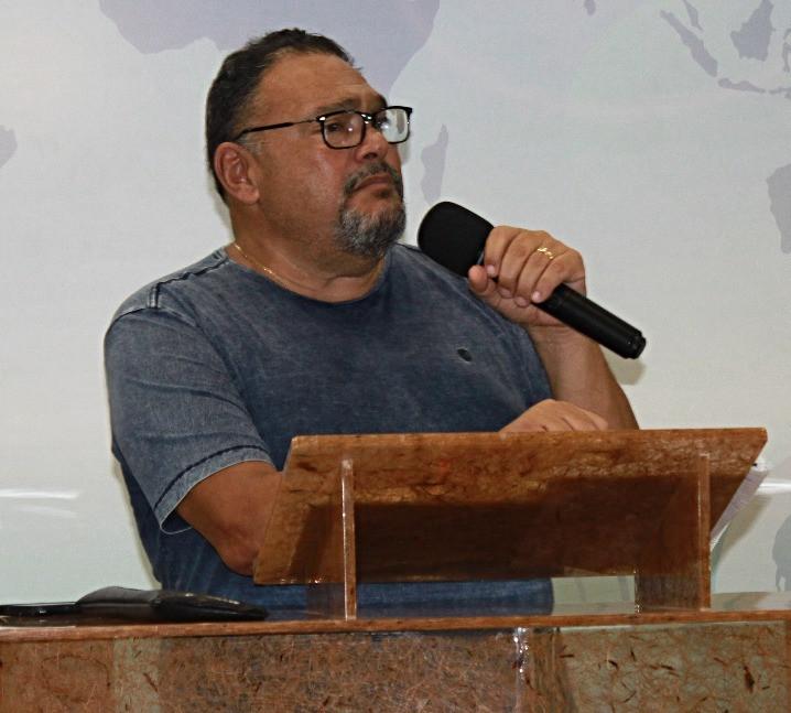 Bilão Chagas, presbítero da CMC Bauru