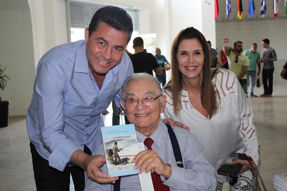 Daniel Moraes, Abílio Pinheiro Chagas e Tânia Moraes