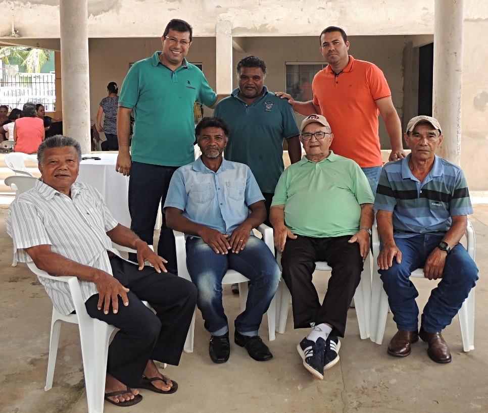 Em fevereiro de 2018, reuniram-se em Nioaque os presbíteros: Marcus Lopes, Ronaldo Souza, Vando Quevedo (em pé, da esquerda para direita); Ramão Souza, Bilo Souza, Abílio Chagas e Astrogildo Bica.