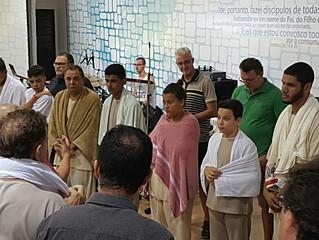 Batismos em fevereiro