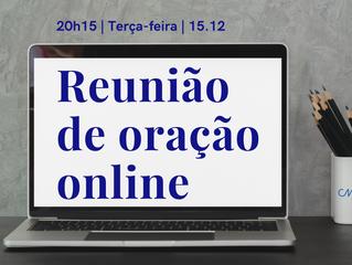 Online nesta terça-feira, às 20h15