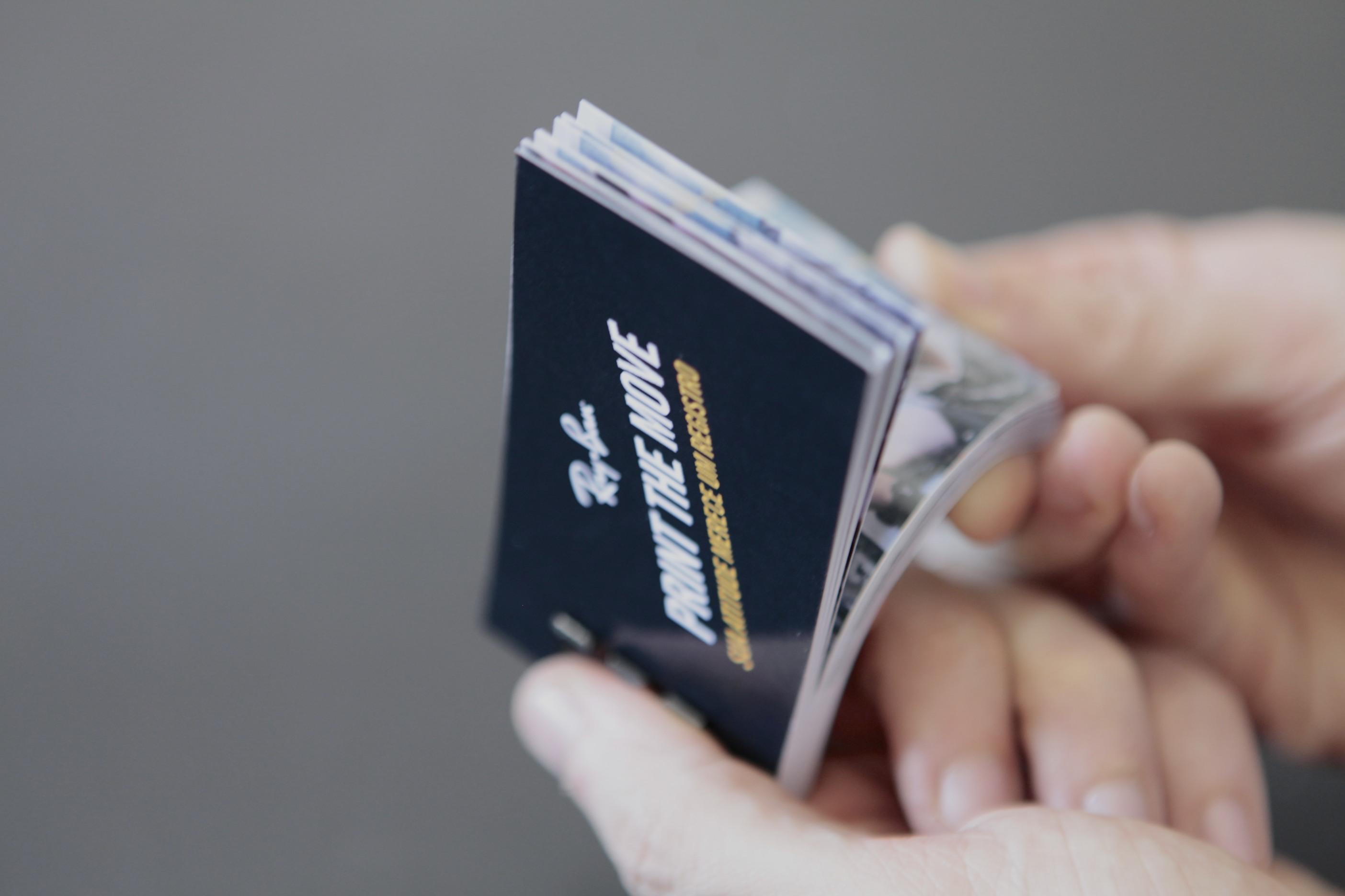 Flipbook impresso