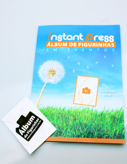 Album de Figurinha Personalizado