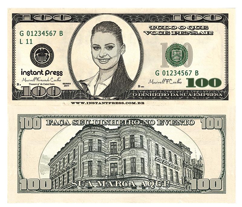 Dinheiro Personalizado