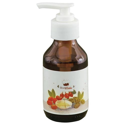Oil Mix - Jojoba Oil, Castor Oil & Rosehip Oil