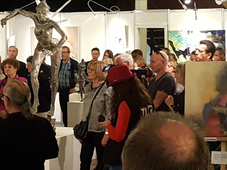 Vernissage du 50ème salon des Arts de Cholet