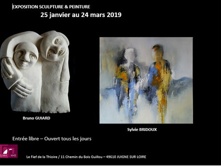 Exposition Loire & Sens- Fief de la Thioire-49610 Juigné /Loire.