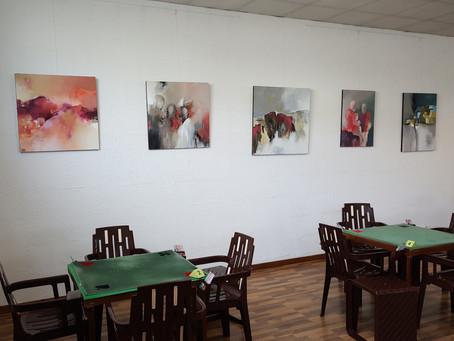 Exposition au club de bridge du Roy René à Angers 4/11 au 6/01/2020