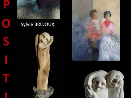 Exposition peintures/ sculptures au chateau de Pignerolle (49).